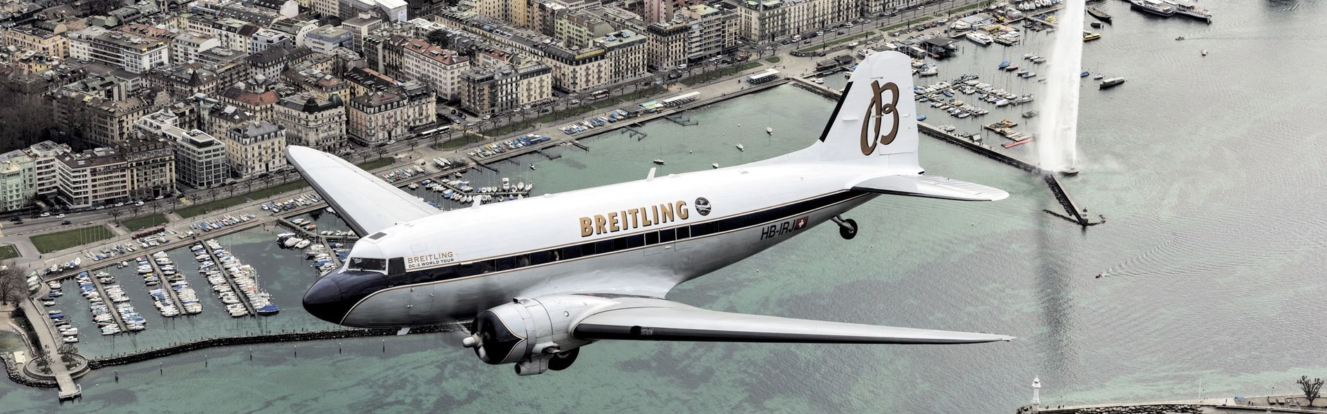 Globetrotting with the Breitling DC-3